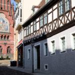 Altstadt Altenburg Gasse Bruederkirche