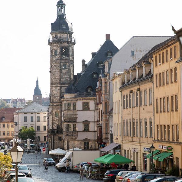 Altenburger Originale Renaissance Rathaus und Rote Spitzen