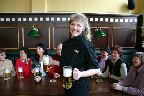 Bierverkostung in der Altenburger Brauerei