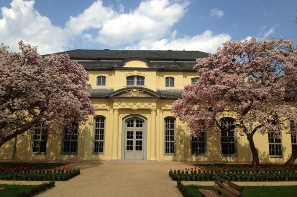 Orangerie im Schlosspark Altenburg