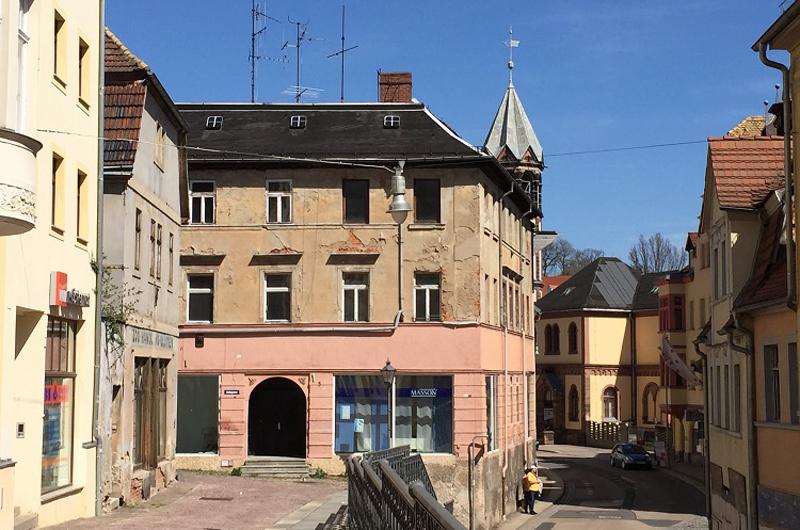 Gassen Wallstrasse Altenburg Altstadt