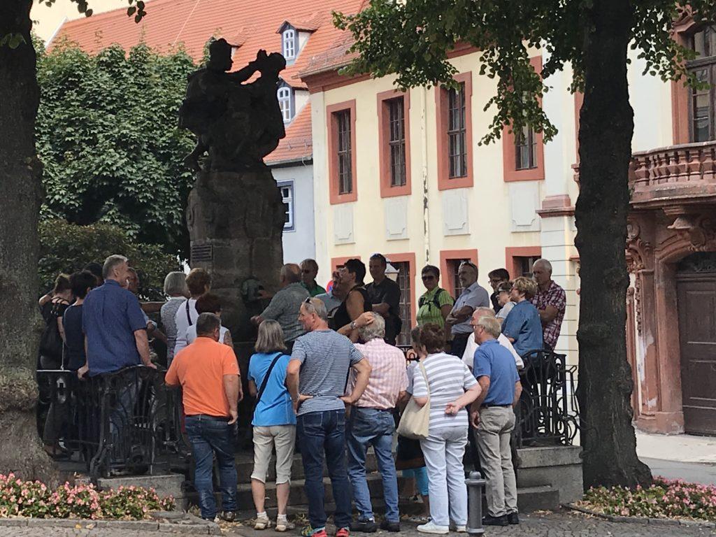Kartentaufe Skatbrunnen Altenburg