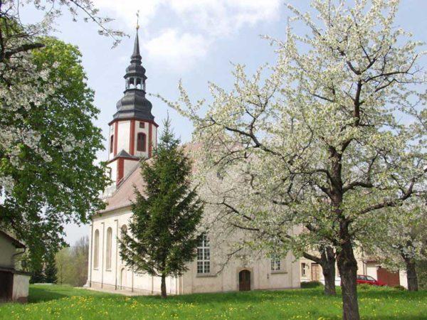 Friedenskirche Ponitz Silbermann Orgel