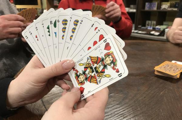 Angebot Spielflaeche im Spielkartenladen
