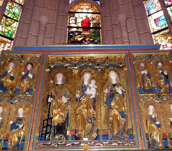 Altar Kirche St. Bartholomäi Altenburg AO web