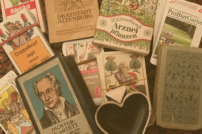 Antiquarische Spielkarten schätzen