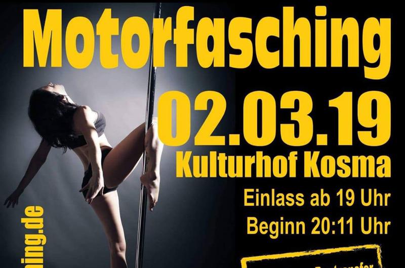 Motorfasching in Kosma