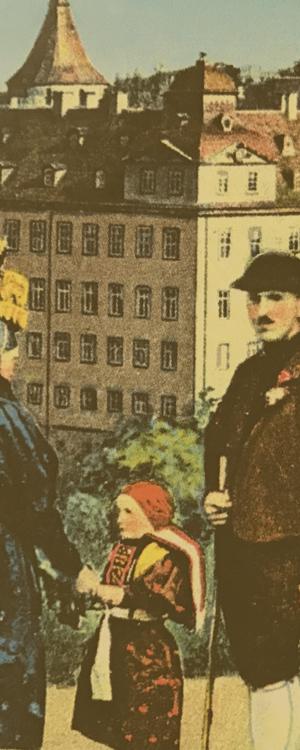 Altenburger Originale -Männer im Bad