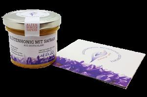 leckerer Safran-Honig - das Gewürz der Glückseeligkeit aus Altenburg