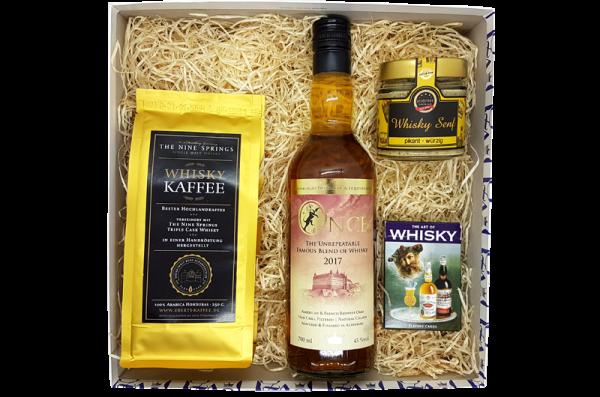 Eine ganz edle Geschenkidee ist unsere Altenburger Whisky-Box.