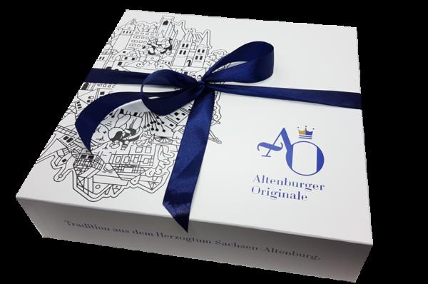 AO-Geschenkbox - liebevoll verpackt mit Schleife